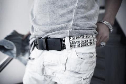 anniversary gifts/vintage belt/mens belt/gift for men/boyfriend gift/Men's Chain…