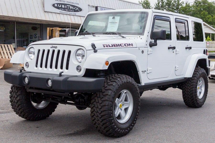 2014 Jeep Rubicon Unlimited White