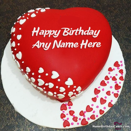 Searching For Romantic Birthday Wishes Your Lover Here We Have Image Of Cake With Name Unique Way To Celebrate His Her