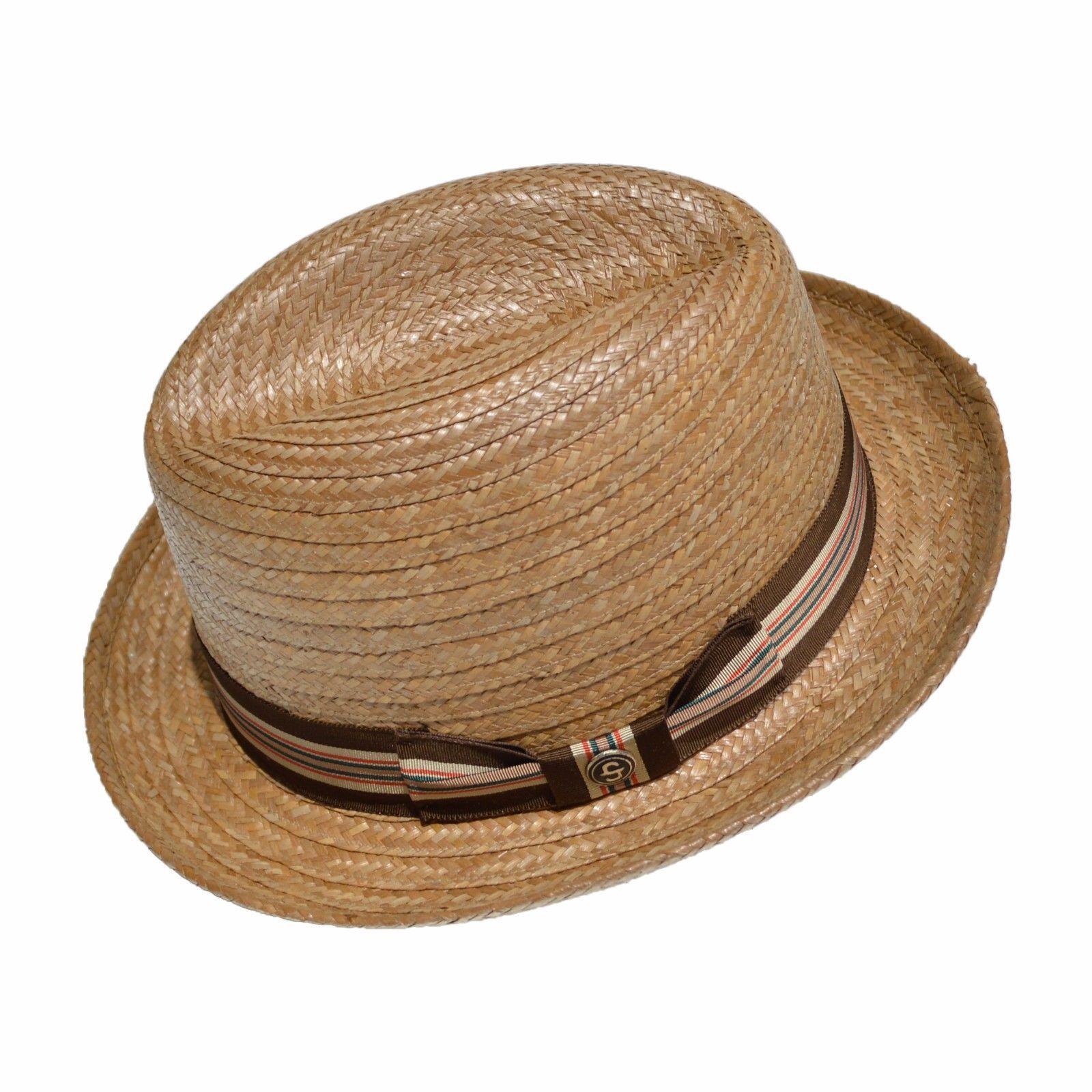 e1d6508c Mens Dress Straw Hats Stetson - Parchment'N'Lead