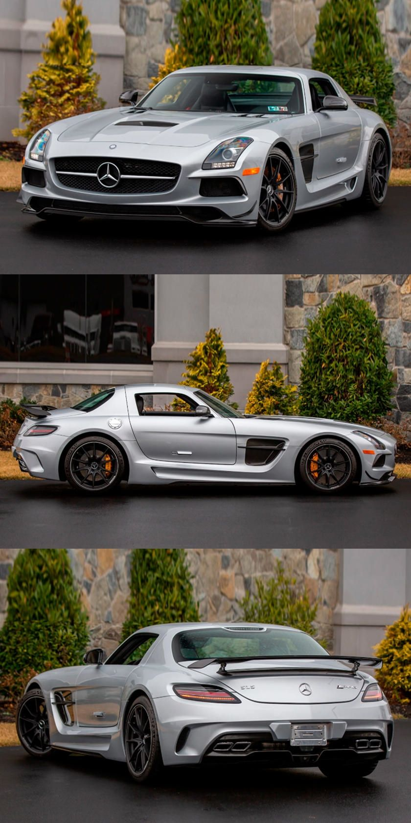 Scare Ferrari Owners Daily With This Mercedes SLS AMG Black Series