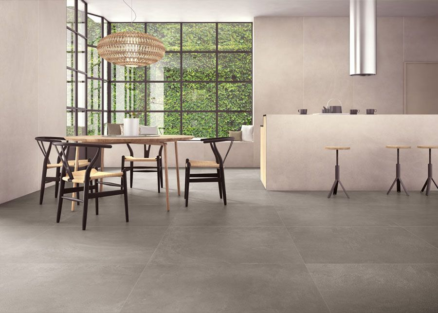 Zero.3 urbanature by panaria ceramica concrete effect pinterest