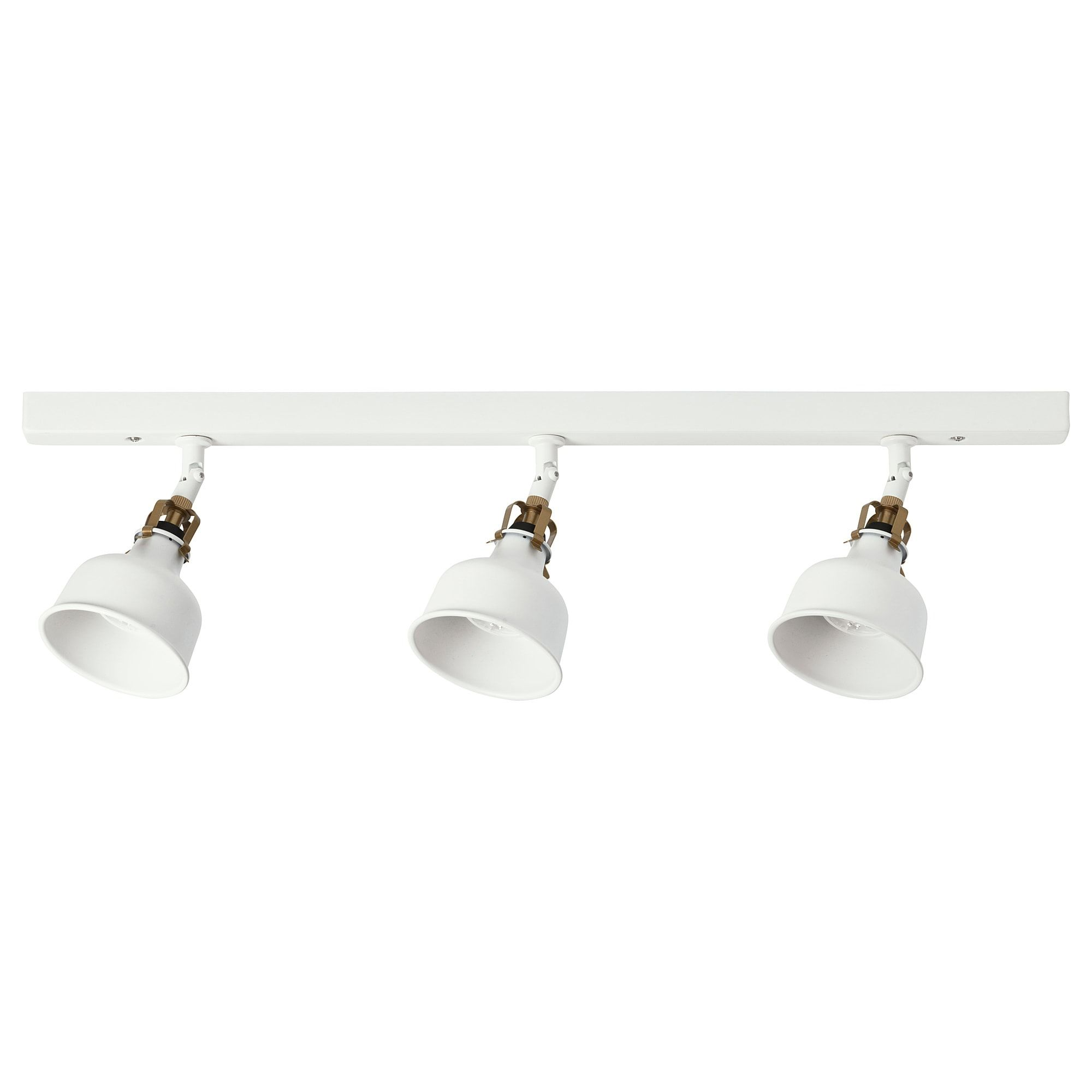 Ikea Ranarp Ceiling Track 3 Spotlights White Off White You Can Easily Direct The Light To Different Places Ikea Ranarp Ceiling Lights Ceiling Spotlights