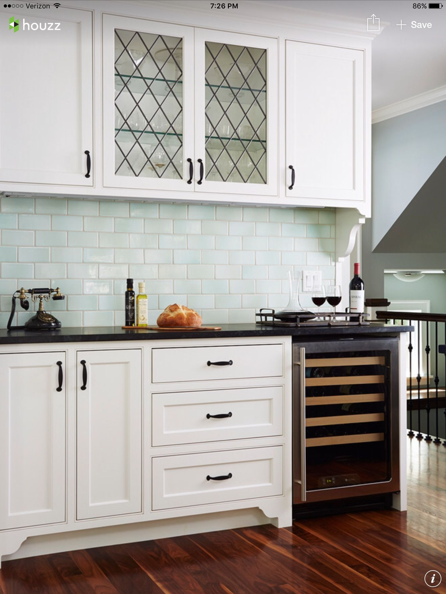 Kitchen soap stone tile hardware all coordinated perfectly with