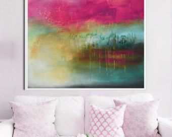 Limited edition fine art giclee print from original mixed media painting.