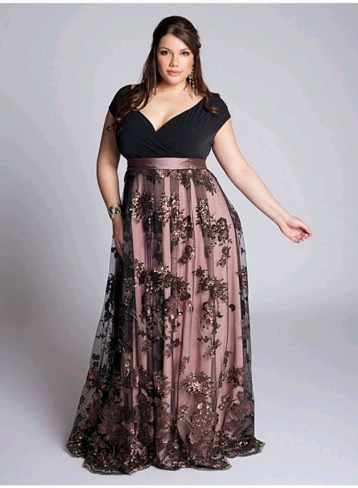 0bd25098a Vestidos de gala para mujeres plus size