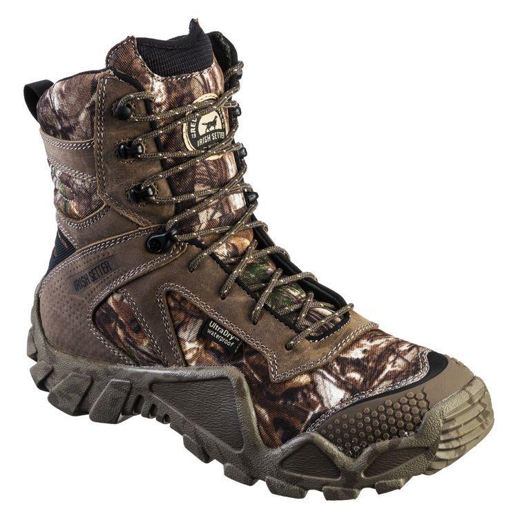 Irish Setter® VaprTrek® 8'' Waterproof Hunting Boots for Men | Bass Pro Shops #turkeyhunting #huntinggear #camoboots