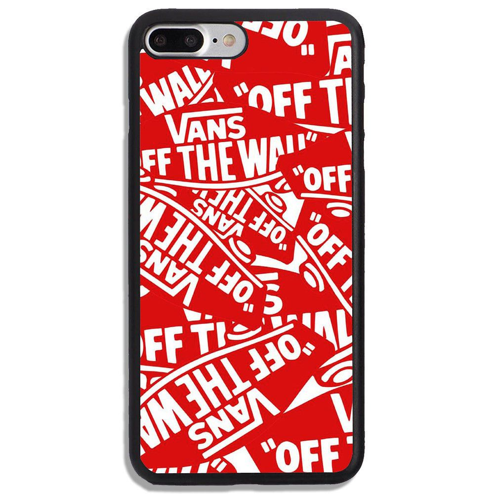 Details About Vans New Design Red Luxury Print On Hard Cover Phone