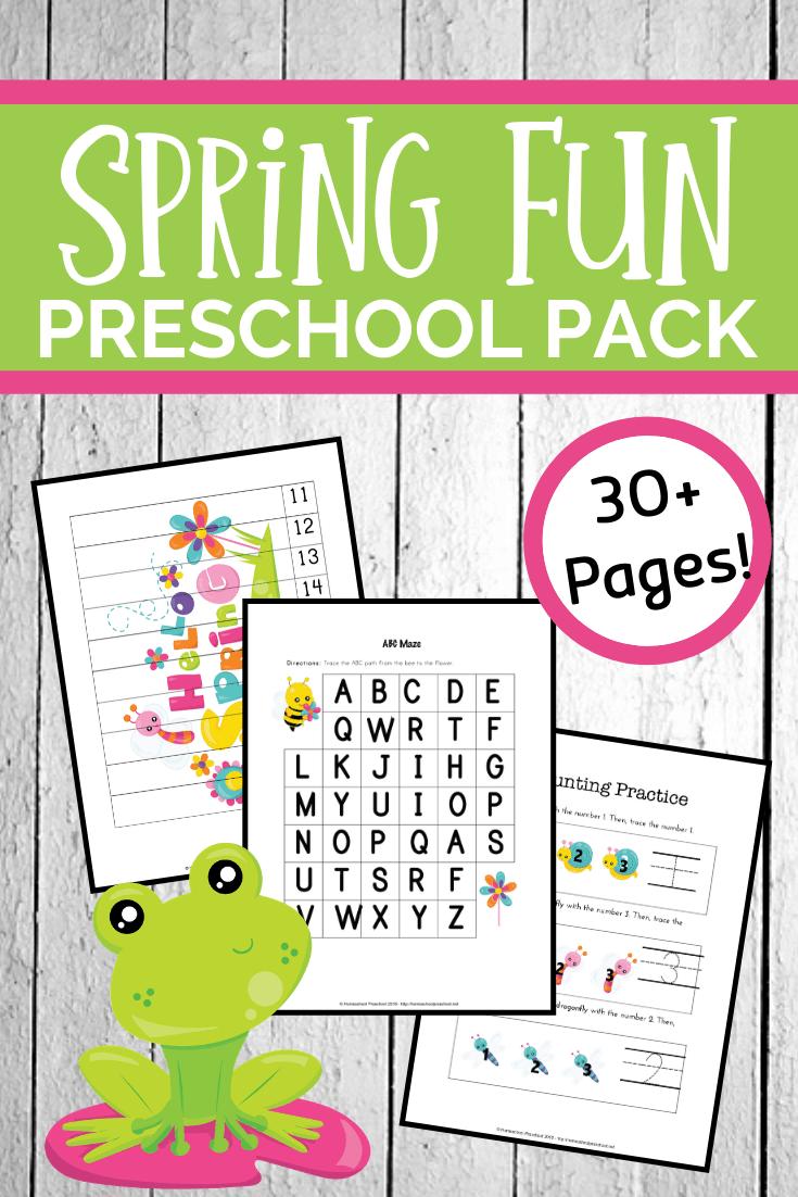 Free Spring Printables For Preschool Spring Preschool Activities Preschool Learning Activities Preschool Activities [ 1102 x 735 Pixel ]