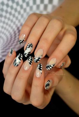 Nail art Illusion d'optique