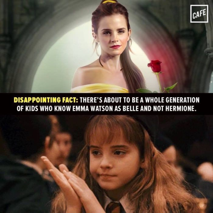 No actually both because we will still introduce our children to Harry Potter, right?