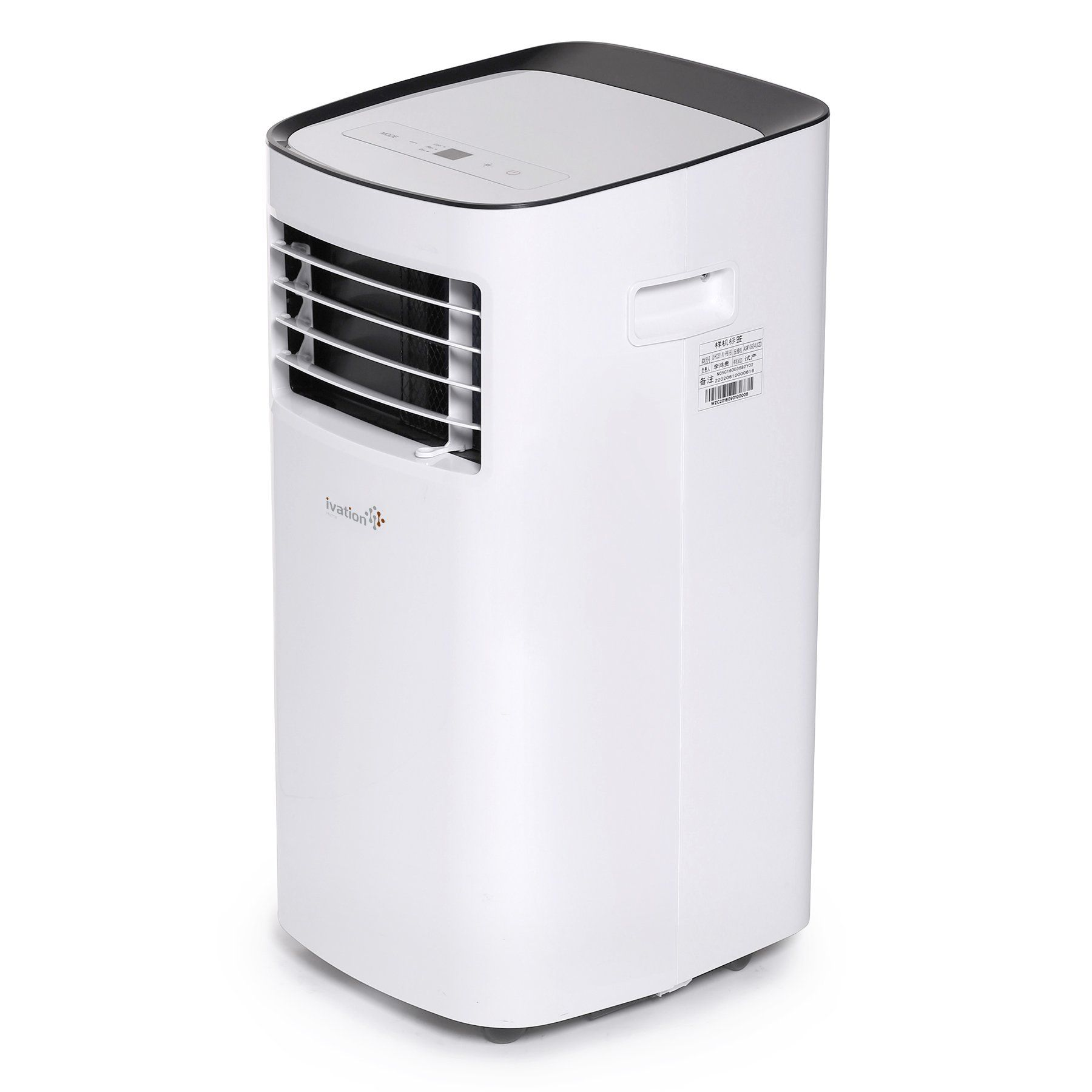 Ivation 10000 Btu Portable Air Conditioner A Compact Singlehose