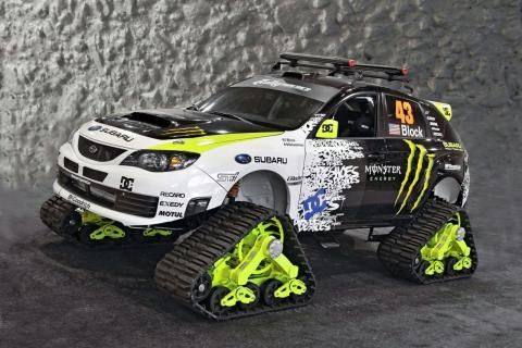 Ken Block Monster Energy Subaru Impreza WRX WRC Cars  Image 1280x853