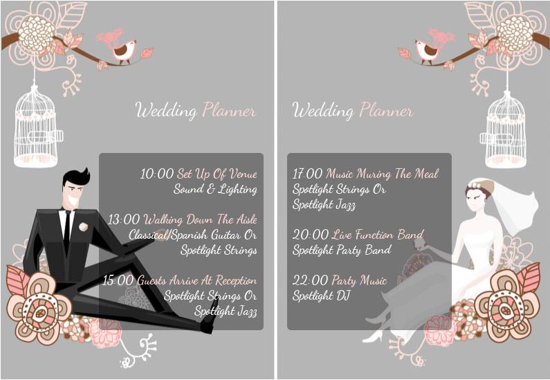 Spotlight Wedding Planner Wedding entertainment, Wedding