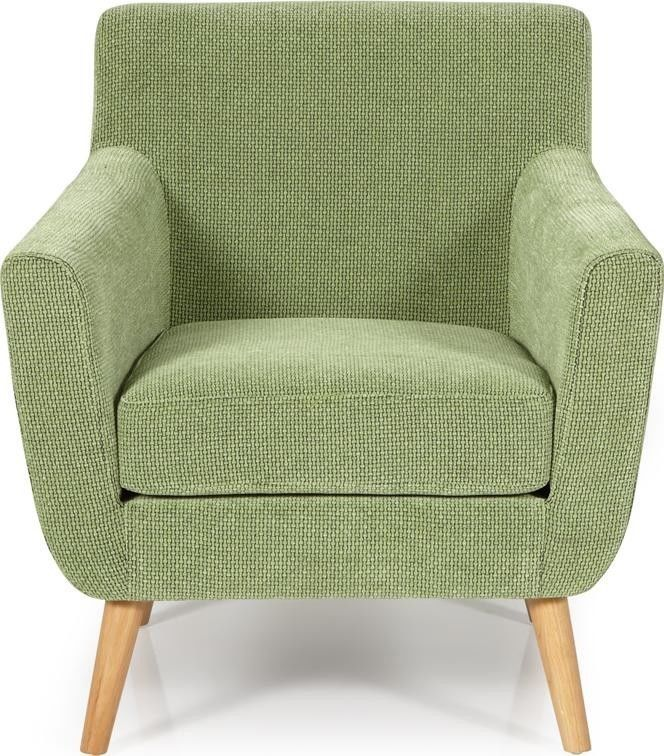 Serene Kelso Retro Occasion Armchair Upholstered Fabric