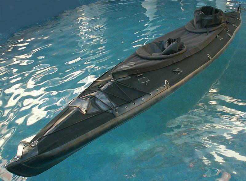 Military double seater folding kayak - Mk II Zoska   Kayaking in