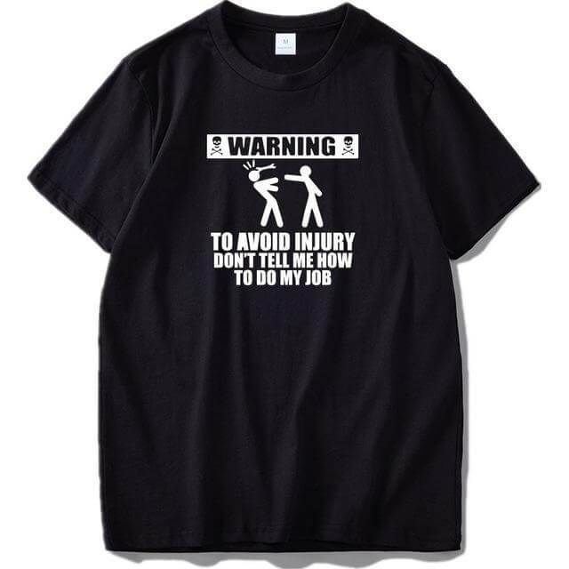 If you are looking for something funny and amazing. You are at the right place. These funny amazing T-shirt will get you noticed everywhere you go. This would be a perfect gift for your girlfriend or boyfriend AWESOME FIT: Fits True to size, great fit and feel - Wash with cold water, inside out. This shirt has a great look and cool fit. This men's funny t-shirt fits great and is great for men, teenagers, and kids. Nothing beats t-shirts for a gift. Well, TOP QUALITY: Nothing beats our selection