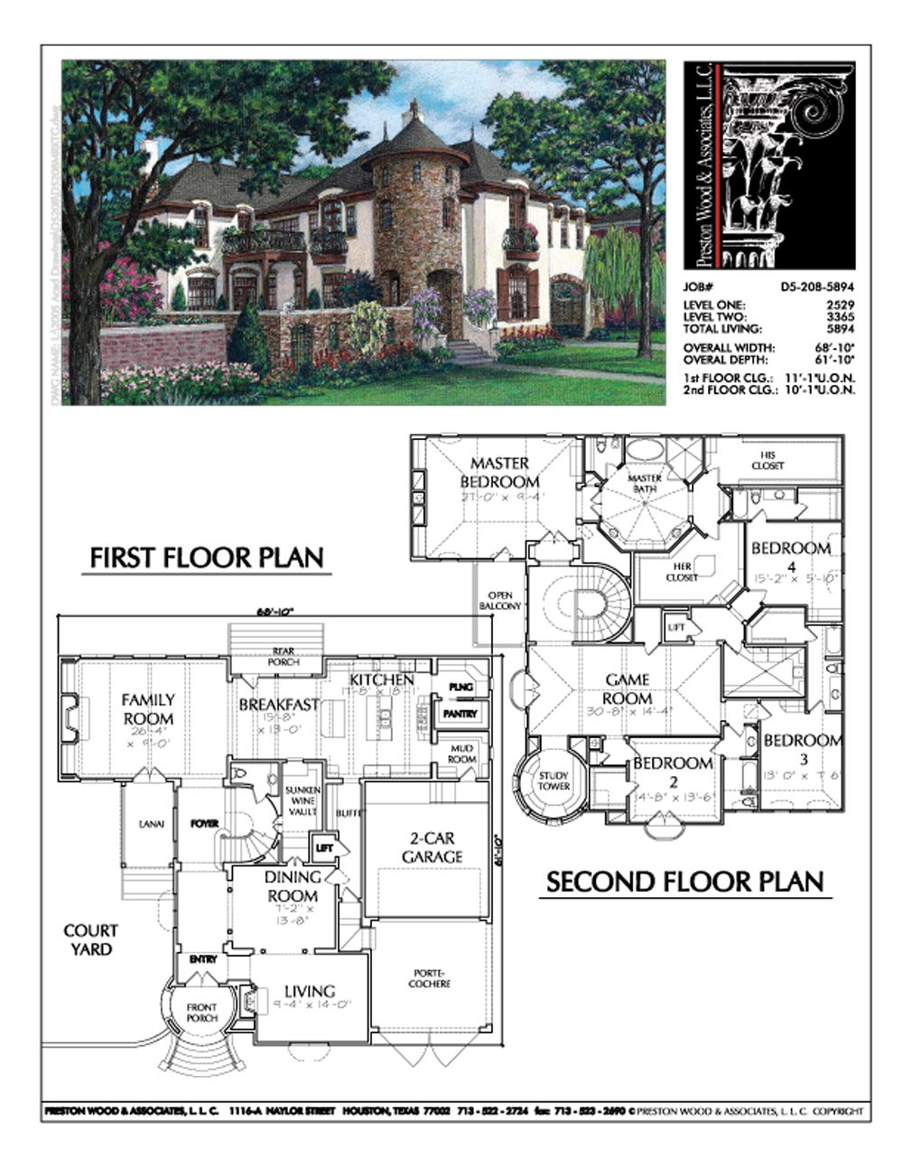 Urban Home Plan Ad5208 Four Bedroom House Plans House Plans Dream House Plans