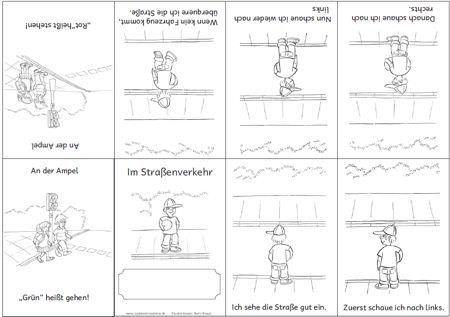 Kleines Faltbuch Zu Den Merkplakaten Eine Faltanleitung Findet Man