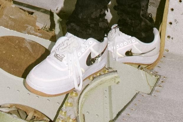 Travis Scott x Nike Air Force 1 Release Details Announced  b6334a2885