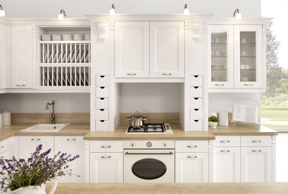 Znalezione obrazy dla zapytania mała kuchnia prowansalska  -> Kuchnie Prowansalskie Obrazy
