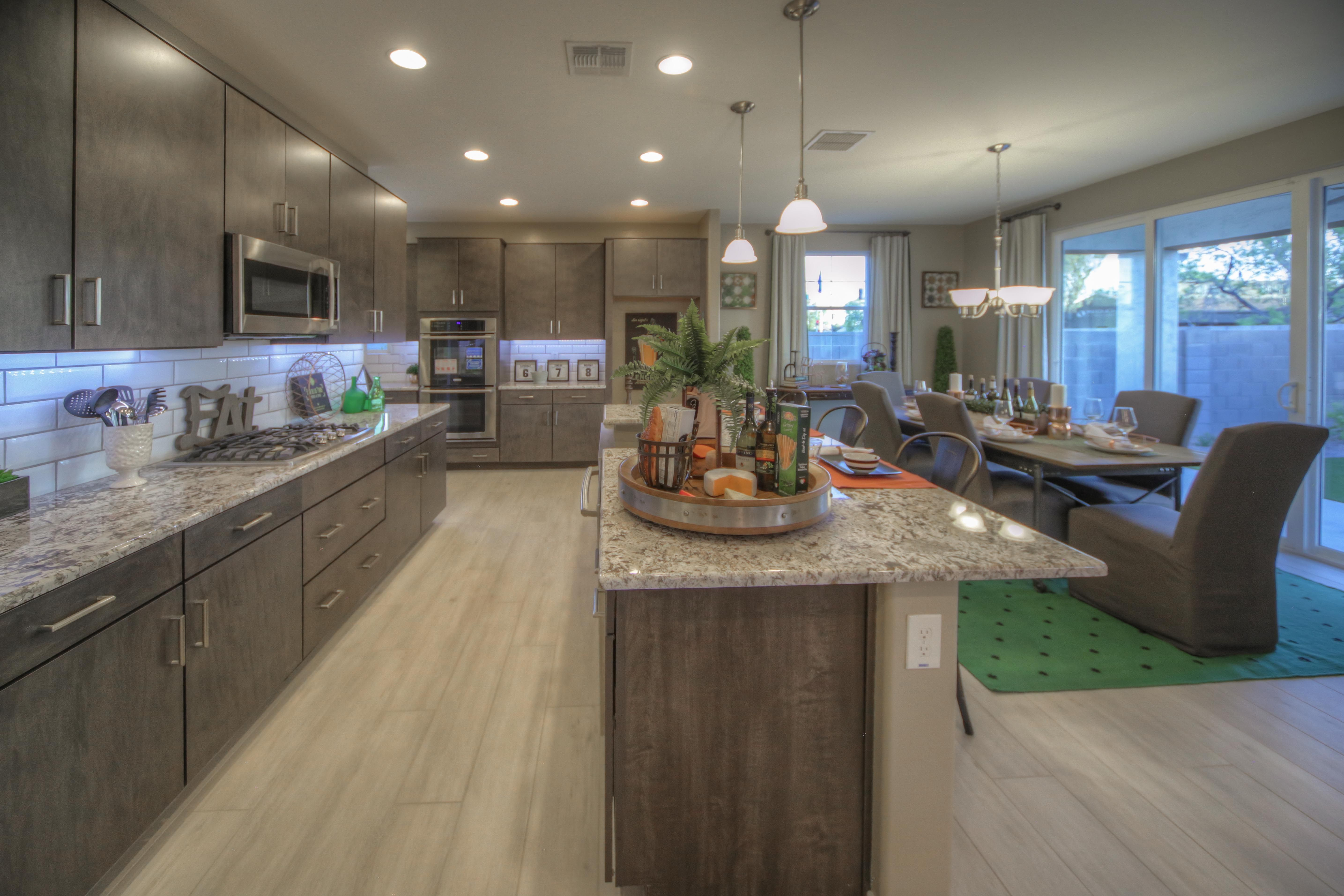 Model Home Designjoan Turner And Kimberly Haag Industrial Gorgeous Kitchen Model Design Decorating Design