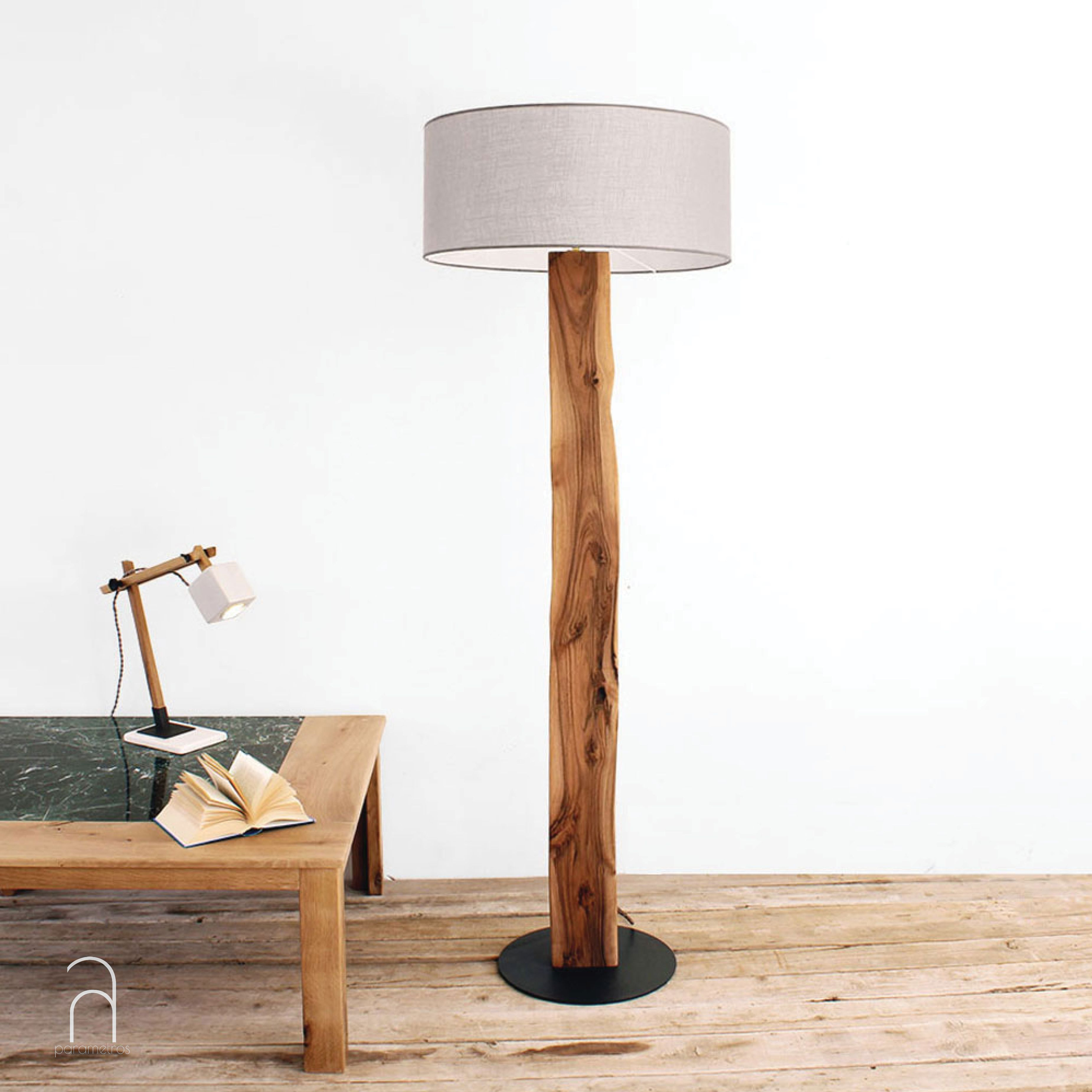 Wooden Floor Lamp By Parametros L Designed And Handcrafted In