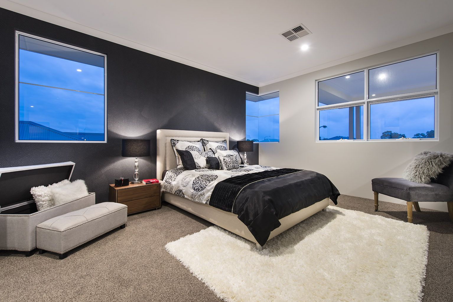 Stylish Bedrooms Stylish Bedrooms © Ben Trager Homes  On Display In Perth