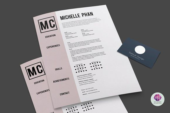CV template (+cover letter) Cv template - architecture resume format