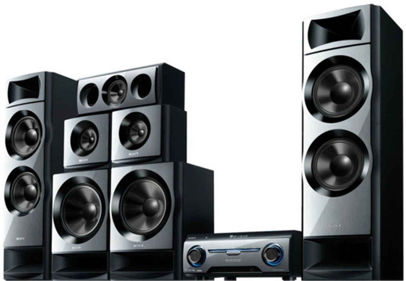 Sony HT-M55 Home Theater System Blu Ray Playback,1950 W Sound Output ...