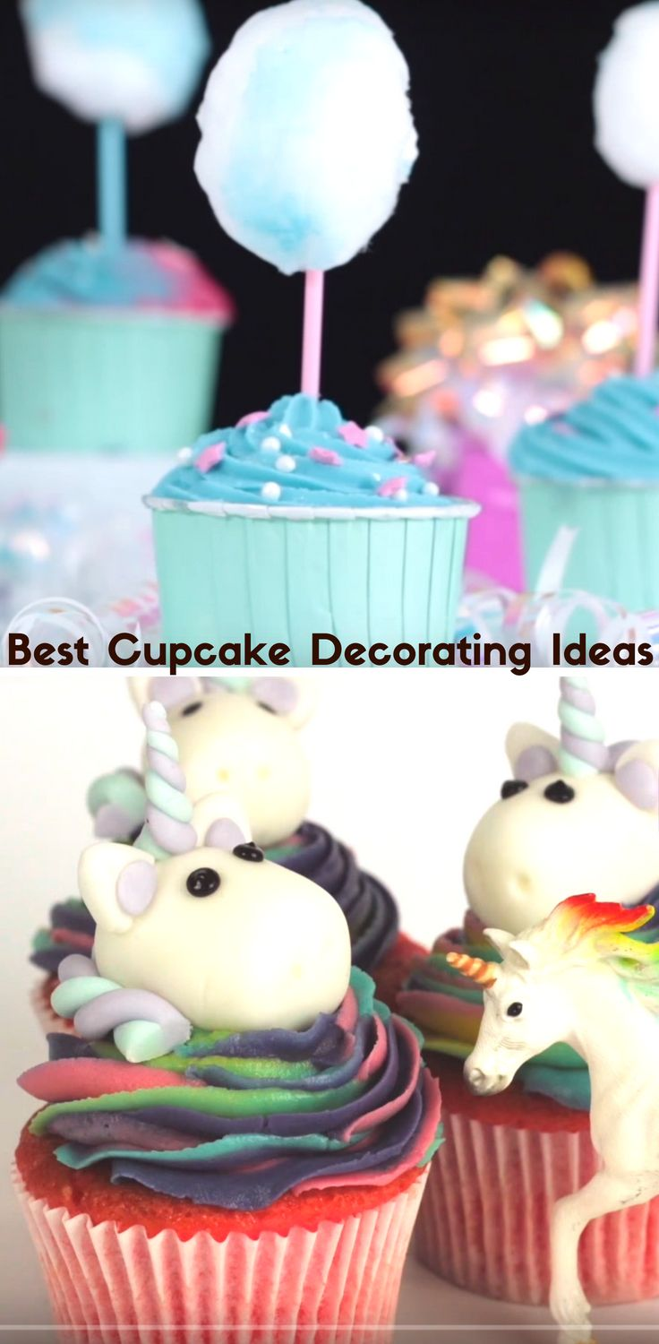 Best Cupcake Decorating Ideas For Kids FUN and Easy Cupcake Recipes #kids # cupcake & Best Cupcake Decorating Ideas For Kids FUN and Easy Cupcake Recipes ...
