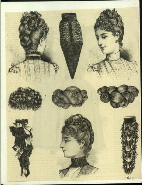 Bea Hair Women - 1887 | Victorian hairstyles, Historical hairstyles, Womens hairstyles