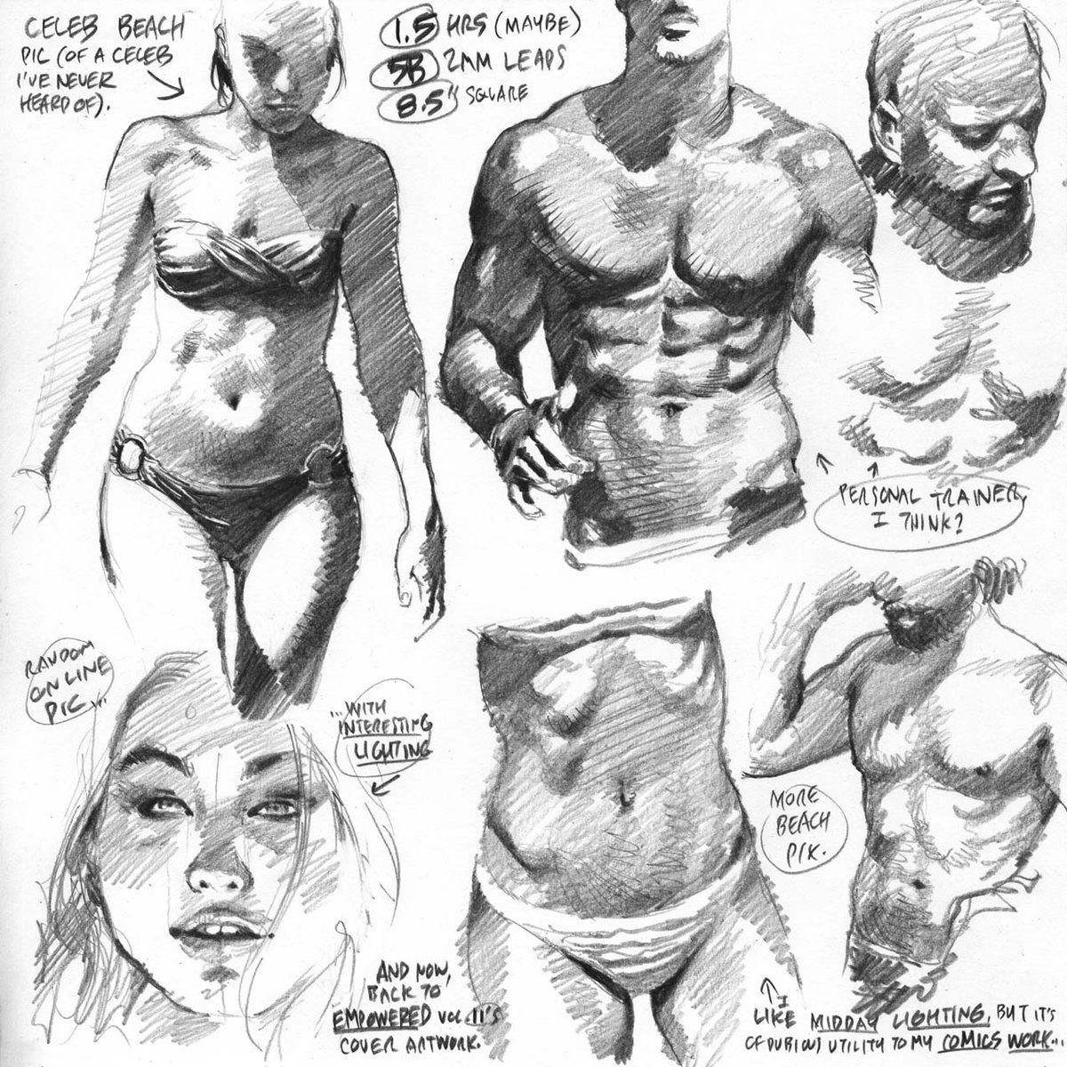Adam Warren (@EmpoweredComic) | Twitter | Art | Pinterest | Anatomía ...