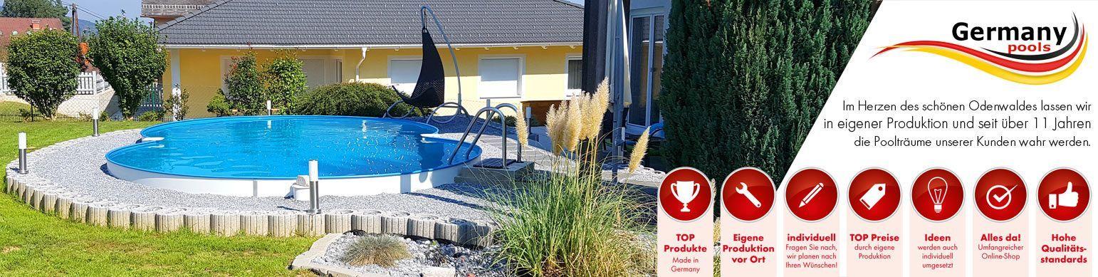 Hochwertige Gartenpool Als Stahlwand Edelstahl U In 2020 Pool Pool Liners Swimming