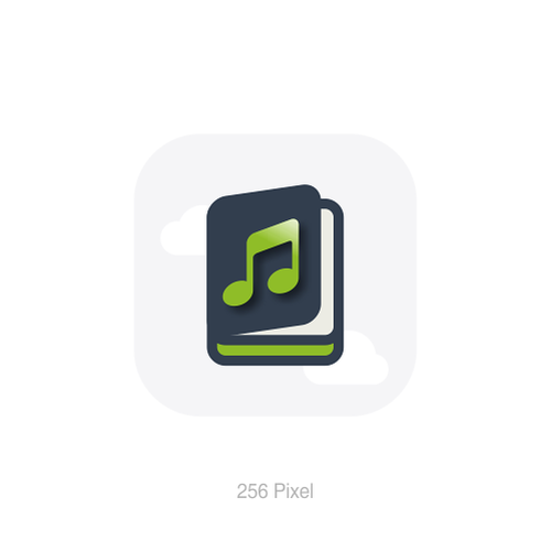 App Icon For Audiobook App It S An App For Listening To Audiobooks The App Downloads Them From Cloud Providers And Stores Web Template App Icon Web Portfolio