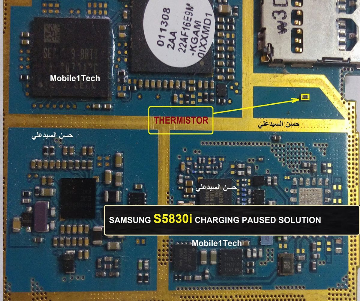 Samsung Galaxy Ace S5830I Charging Paused Solution Jumpers | Jumper
