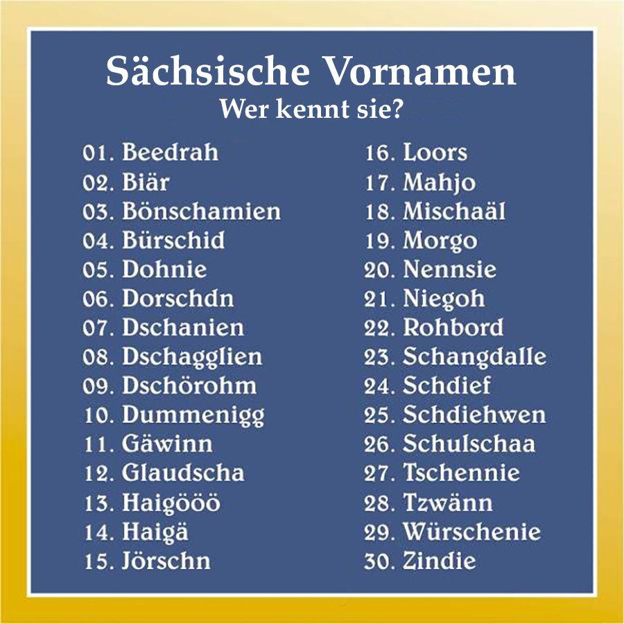 Bayerische Namen Jungen