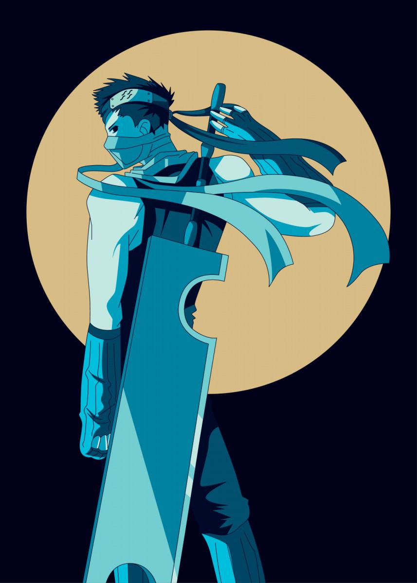 Zabuza Momochi Poster Print By Al Art Displate In 2020 Wallpaper Naruto Shippuden Naruto Art Naruto Wallpaper Iphone
