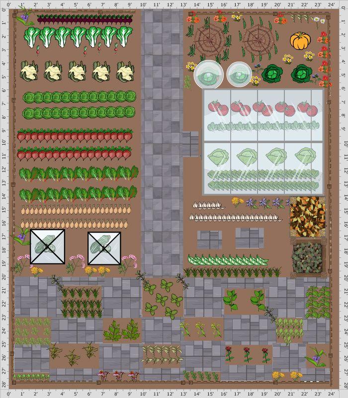 Garden Plan 2017 Herb Checkerboard Garden Planner Edible