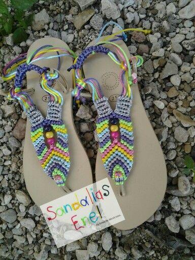 Sandalia Modelo Color