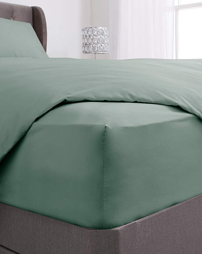 200 Tc Plain Dye Extra Deep Fitted Sheet In 2021 Fitted Sheet Home Sheet