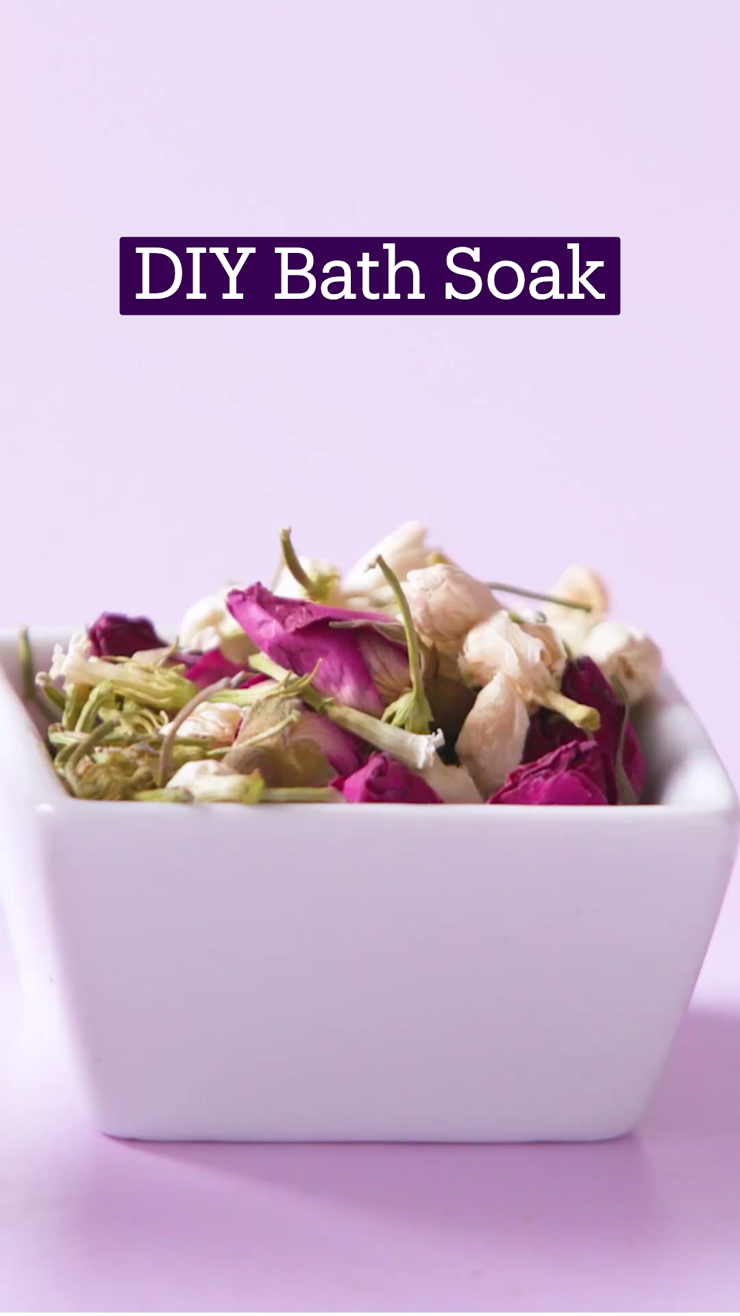 DIY Bath Soak