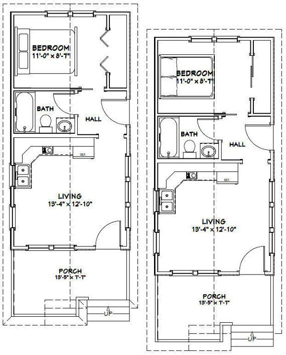 14x28 Tiny Homes Pdf Floor Plans 391 Sq Ft Tiny House Floor Plans Tiny House Cabin House Blueprints