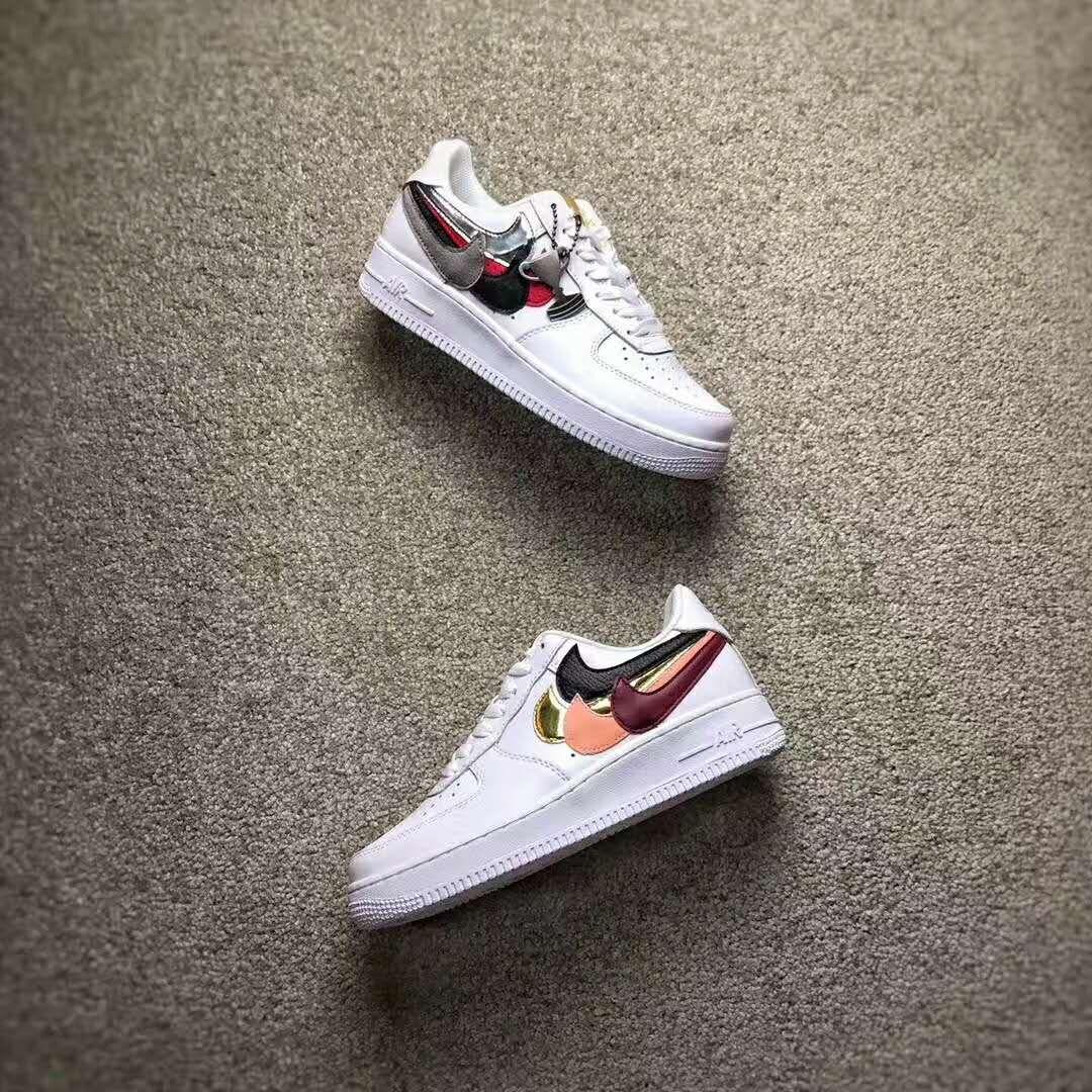 sports shoes dd0db e5eee John Geiger s Misplaced Checks Nike Air Force 1 White