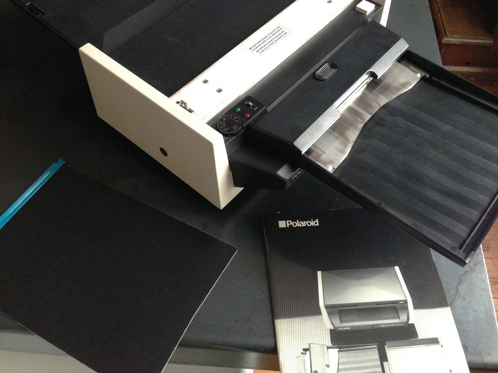 Polaroid 8x10 Land Film Processor Loading Tray 81 09 Dark Slide