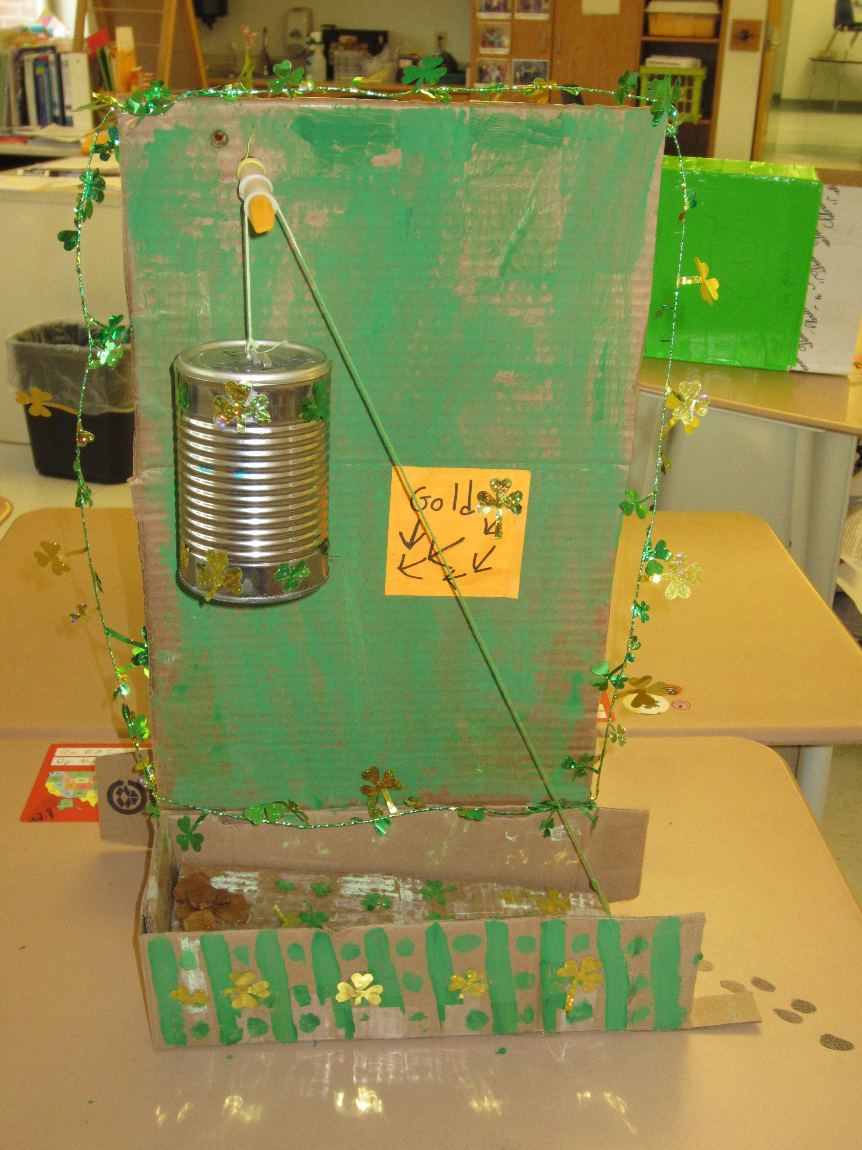 Leprechaun traps using 2 simple machines. March Tinkering ...