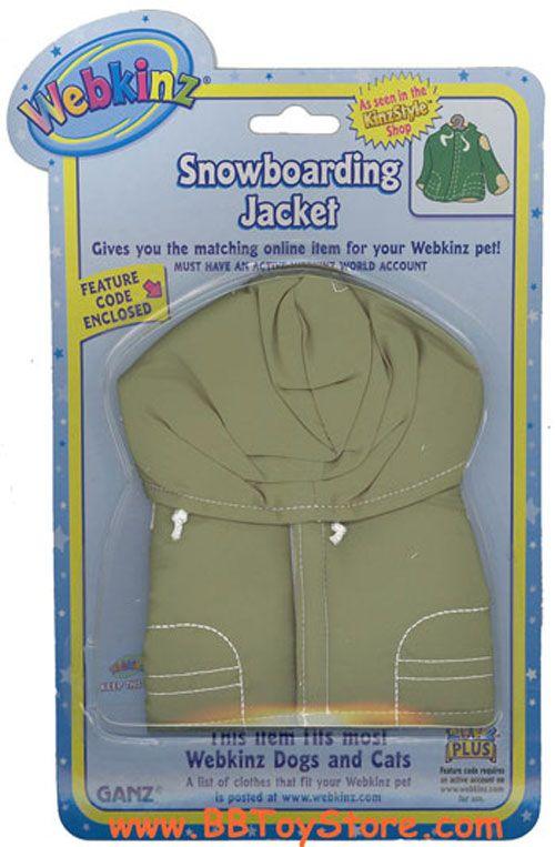 6951e1e50 Webkinz Clothing - SNOWBOARDING JACKET