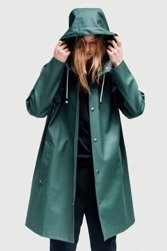 Image result for womens rubber khaki rain coat | Looks ...