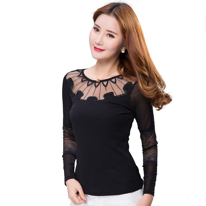 a95583b72ada3 Aliexpress.com : Buy New 2017 Spring Women blouses shirt fashion ...