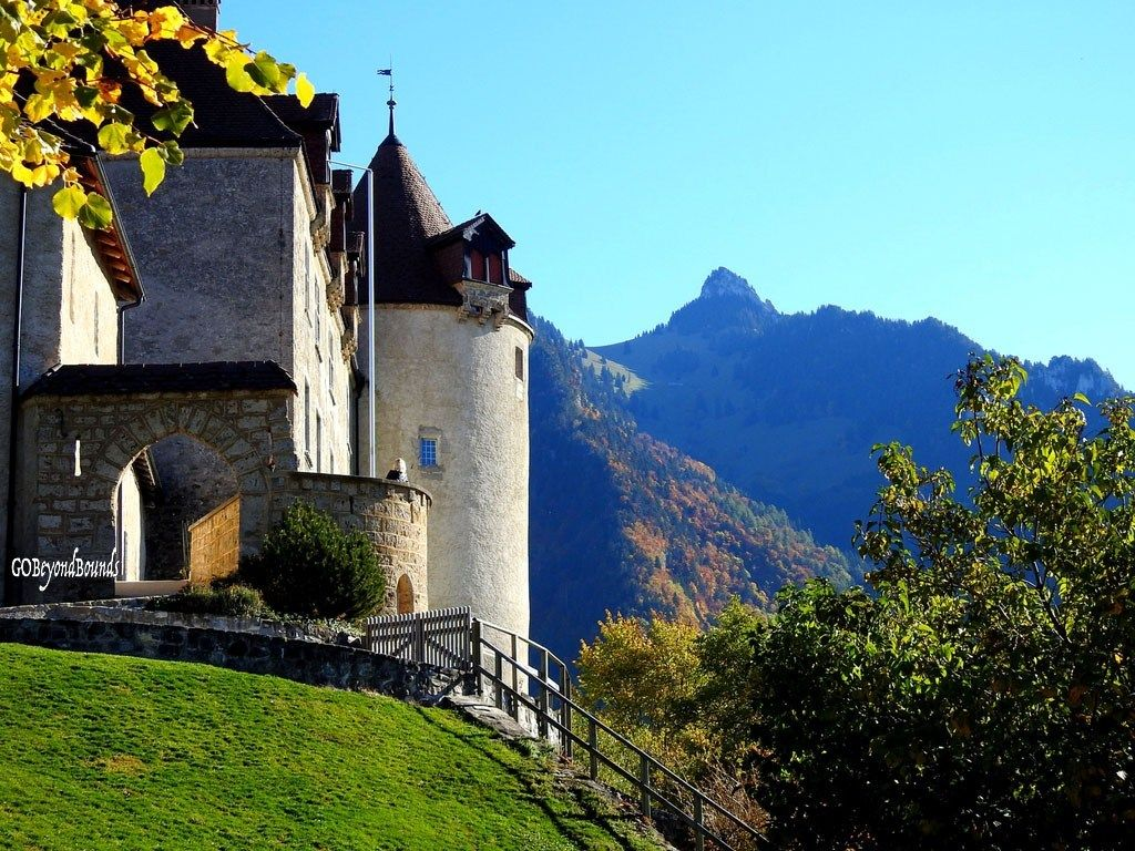 A Visit to the Medieval Castle of Gruyeres in Switzerland